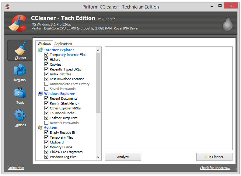 Free download ccleaner for windows with crack file