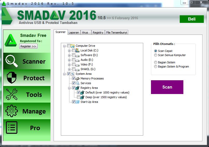 Download smadav Antivirus