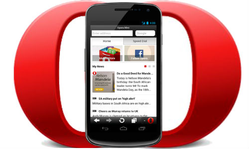 Opera mini APK free download for Android mobile Nokia, sumsung