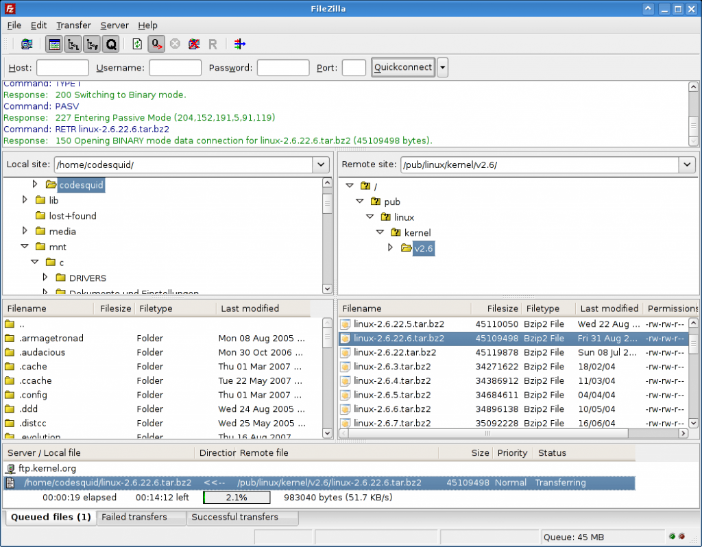 Filezilla Free Download