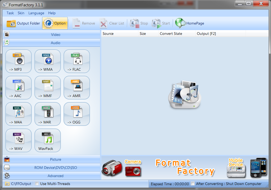 Free Download Format Factory Full Version for Windows