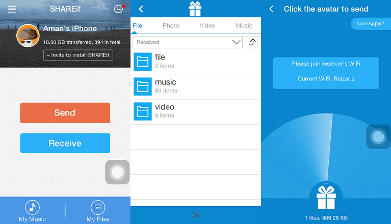 Shareit Free Download for iPhone