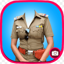 Police Suit Photo Maker-Woman