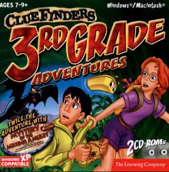 ClueFinders 3rd and 4th Grade