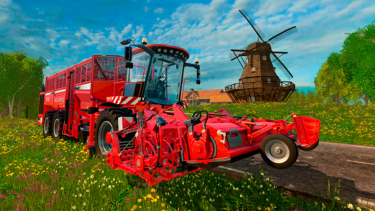 Farming Simulator 15 Holmer DLC Game