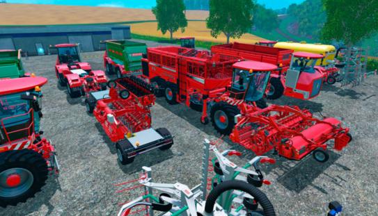 Farming Simulator 15 Holmer