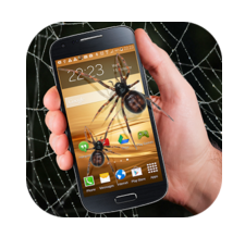 Spider in phone joke