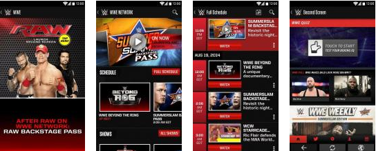 Download WWE Apps Free