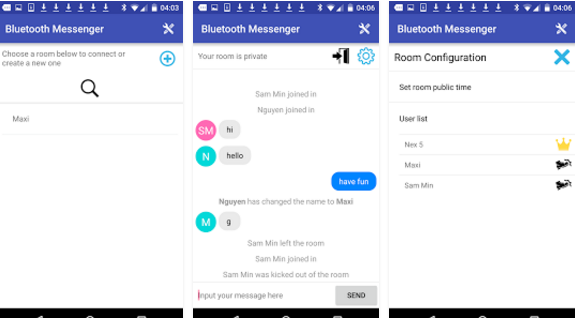Download Bluetooth Messenger Apk