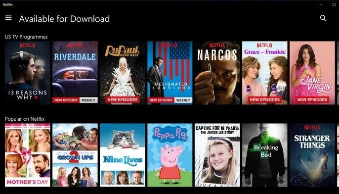 Netflix App Download For PC