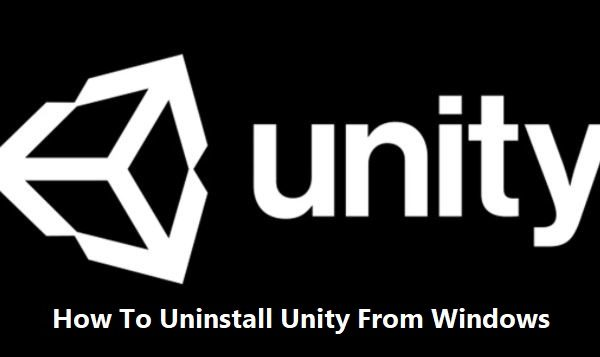 how to uninstall unity