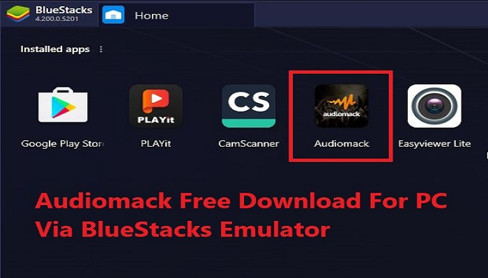 audiomack for pc free download