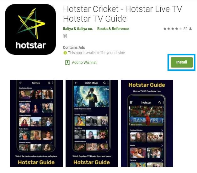 Hotstar App For Samsung Smart TV