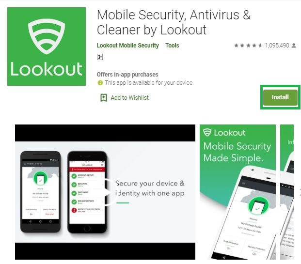 Lookout Antivirus For PC