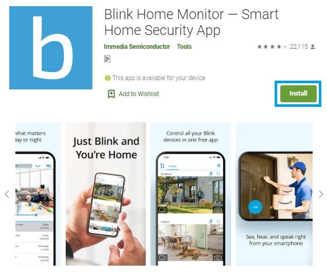 blink app for pc windows