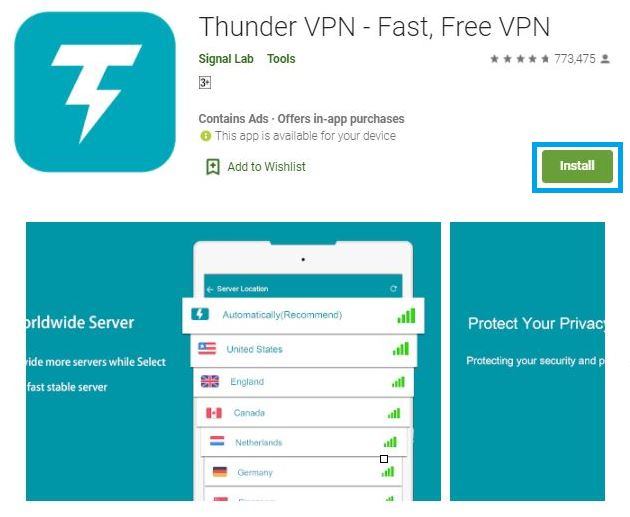 download thunder vpn for pc